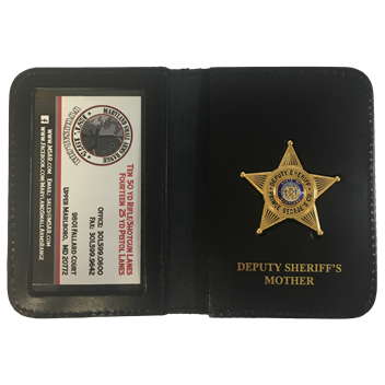 PG County Sheriff's Office Family Badge & Wallet