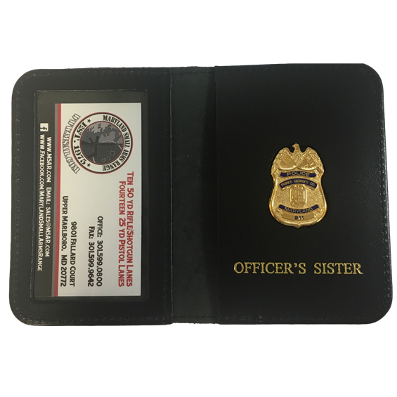 PG County Family Badge & Wallet