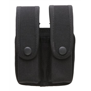 Uncle Mike's Divided Case with Flaps for Double Row Mags