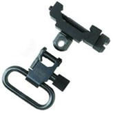 Uncle Mike's Swivel Attachment Fixed Black Picatinny