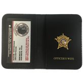 CCSO Family Badge & Wallet
