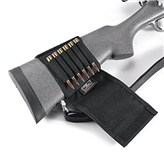 Uncle Mike's Neoprene Buttstock Shell Holders, Flap Style