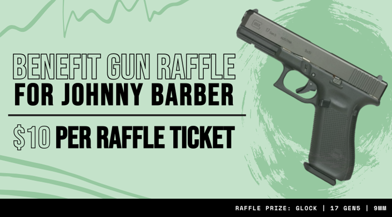 Benefit_Gun_Raffle_for_Johnny_Barber_Banner